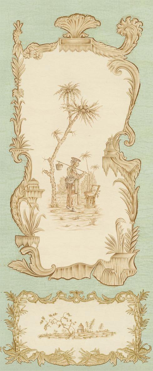 Английские обои Iksel,  коллекция Scenic & Architectural Wallpapers, артикулChinoiserieCHINOIS15