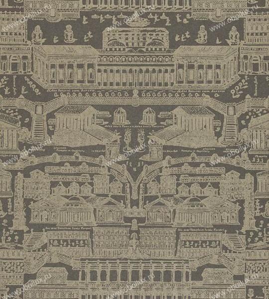 Английские обои Zoffany,  коллекция Intaglio, артикул310075