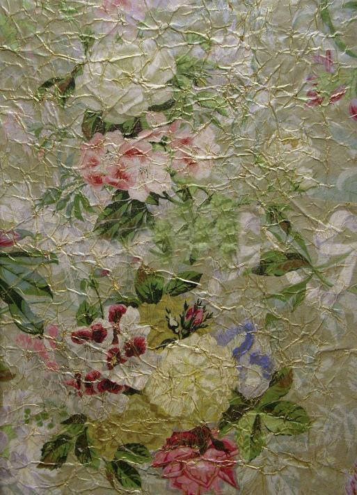 Французские обои Zuber,  коллекция Roses Anciennes, артикулROSES-ANCIENNES-P-05