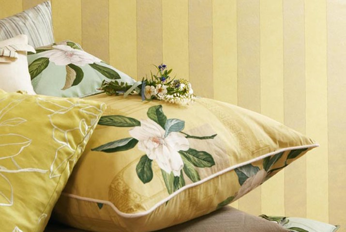 Английские обои Sanderson,  коллекция Parchment Flowers, артикулDPFWPS102