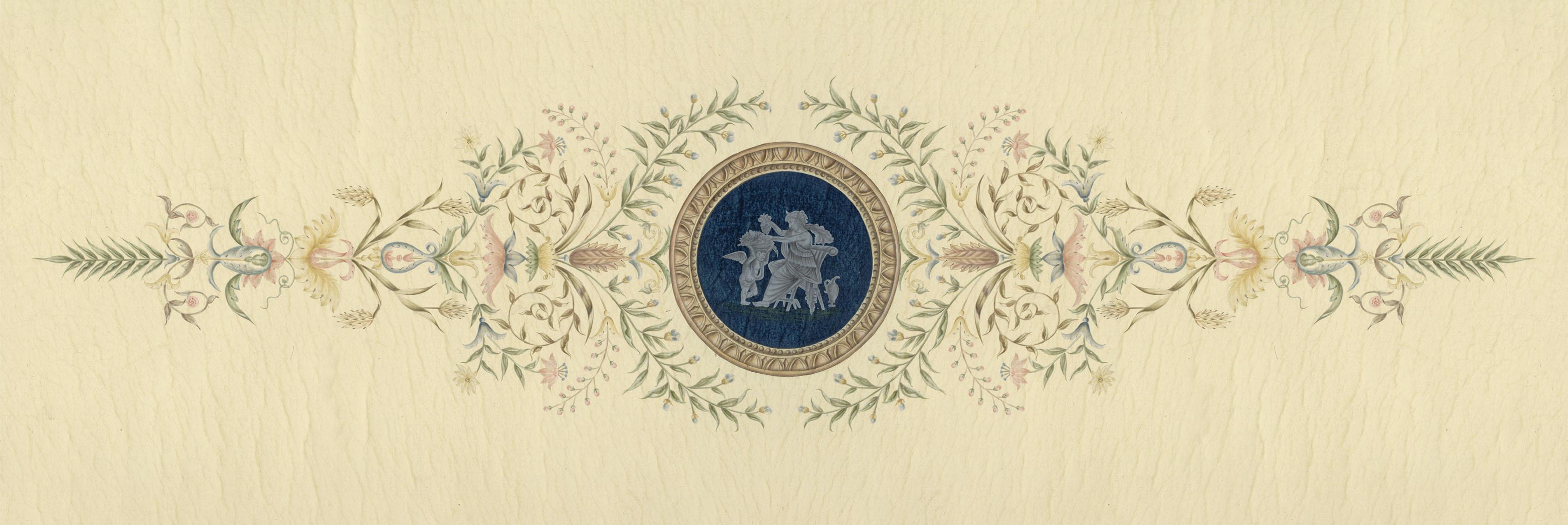 Английские обои Iksel,  коллекция Scenic & Architectural Wallpapers, артикулOverDoorsDDP