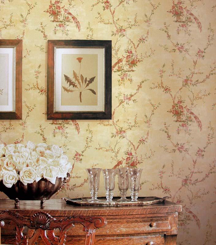 Американские обои Wallquest,  коллекция Sandpiper Studios - Heart of Provence, артикулPV10803