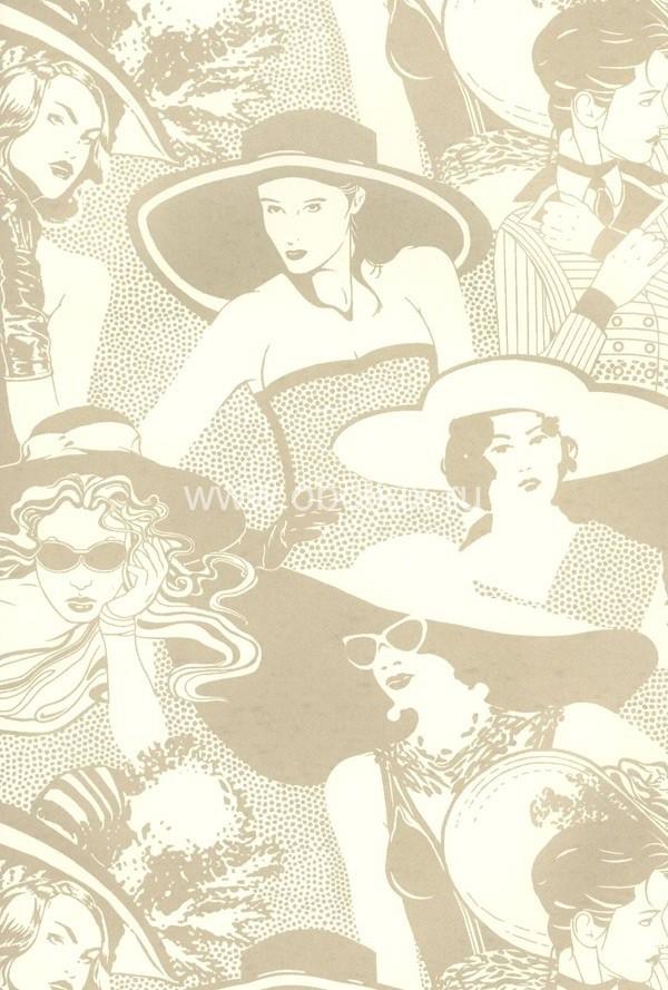 Американские обои York,  коллекция Ashford House - Tres Chic, артикулBL0334