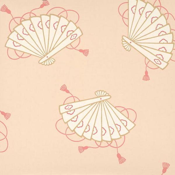 Английские обои Little Greene,  коллекция Oriental Wallpapers, артикул0275SHSHELL