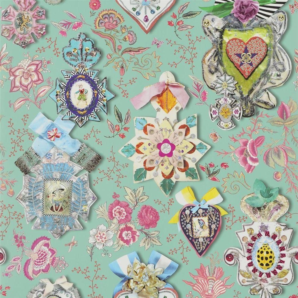 Английские обои Designers guild,  коллекция Christian Lacroix - Incroyables et Merveilleuses, артикулPCL694-02
