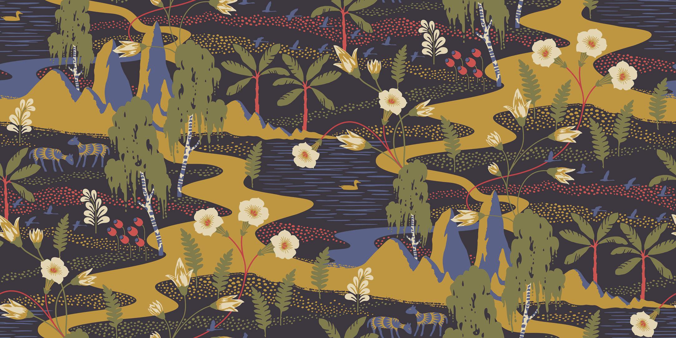 Шведские обои Borastapeter,  коллекция Wonderland by Hanna Werning, артикул1479