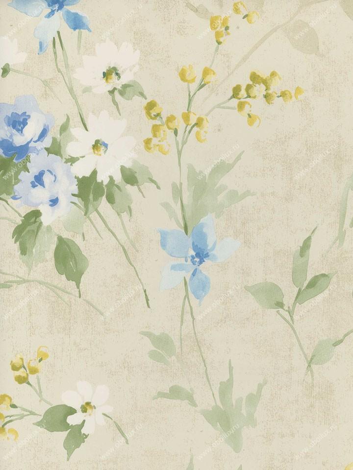 Американские обои Wallquest,  коллекция Fresh Floral, артикулFF91506