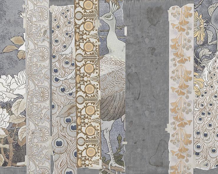Итальянские обои Wall & deco,  коллекция 2016, артикулWDPK1601