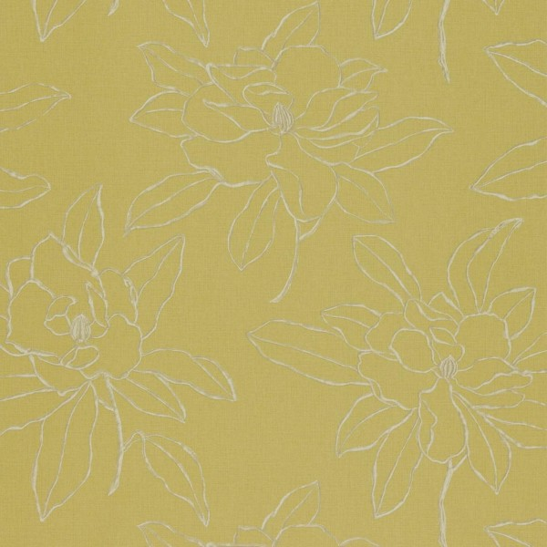 Английские обои Sanderson,  коллекция Parchment Flowers, артикулDPFWMA101