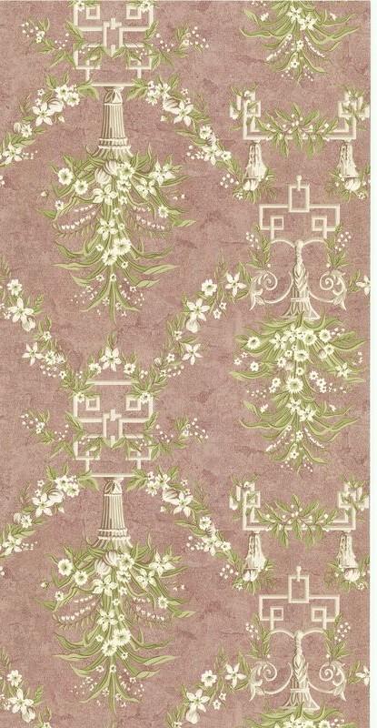 Американские обои Brewster,  коллекция Vintage Luxury, артикулSZ001527