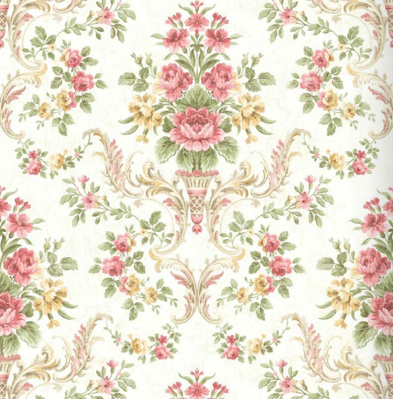 Американские обои Wallquest,  коллекция Style49 - Abbey Gardens, артикулHN40512