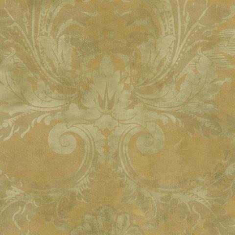 Американские обои York,  коллекция Gold Leaf, артикулGF0780