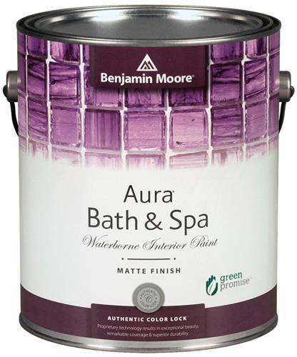 Aura 532 Bath & Spa Waterborne Interior Paint - Matte Finish