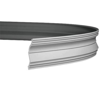 Карниз гибкий из полиуретана 1.50.254F