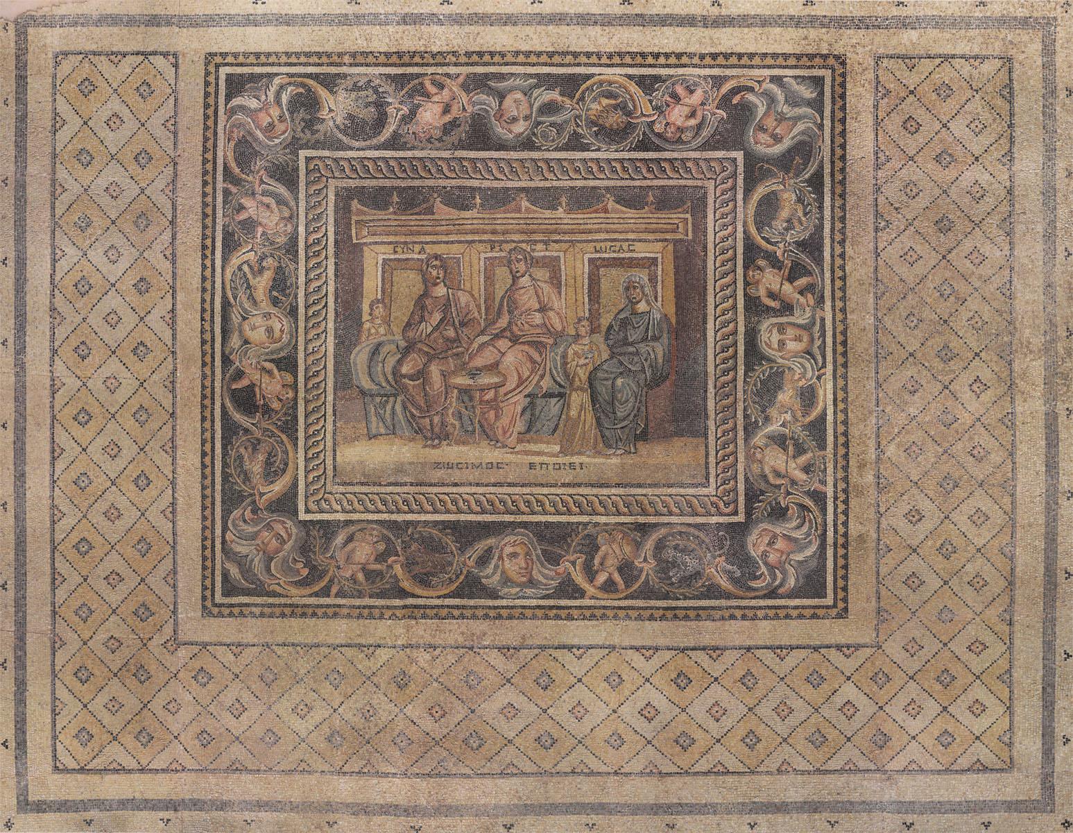 Английские обои Iksel,  коллекция Scenic & Architectural Wallpapers, артикулWomenAtBreakfastMosaic