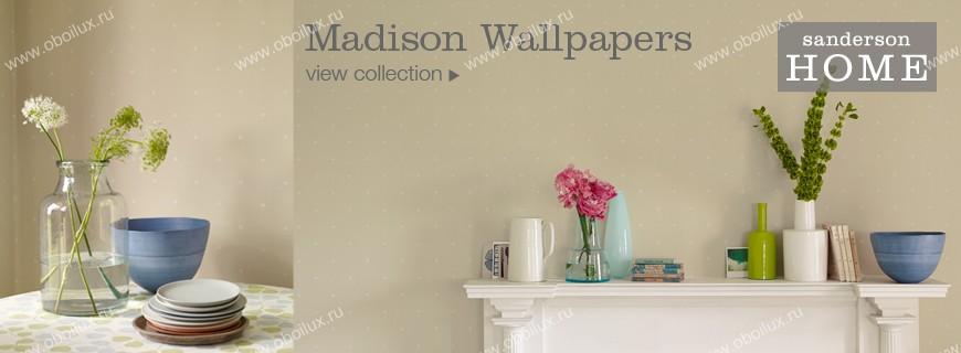Английские обои Sanderson,  коллекция Madison, артикул212841