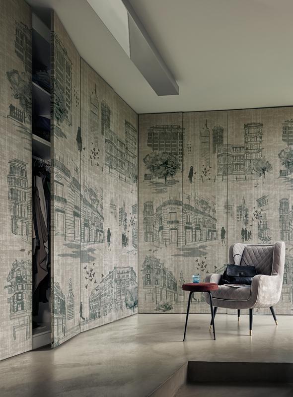 Итальянские обои Wall & deco,  коллекция Life 15, артикулWDTI1502