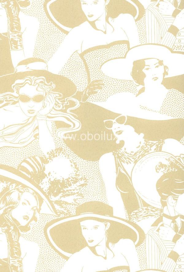 Американские обои York,  коллекция Ashford House - Tres Chic, артикулBL0333