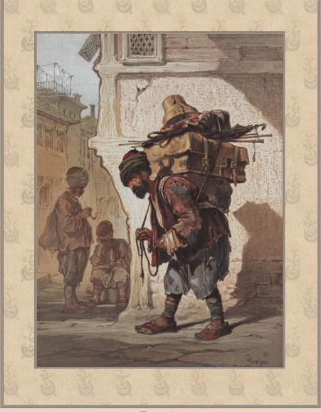 Английские обои Iksel,  коллекция Scenic & Architectural Wallpapers, артикулPreziosi'sConstantinoplePREZ15