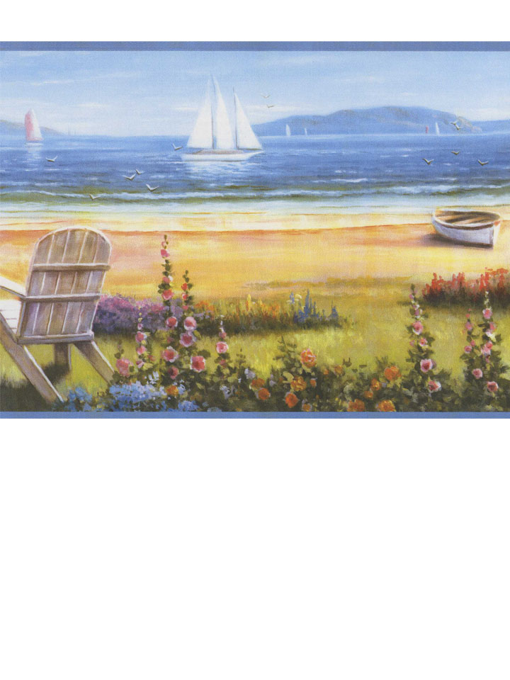 Американские обои Chesapeake,  коллекция Sand Dollar, артикулDLR20021B