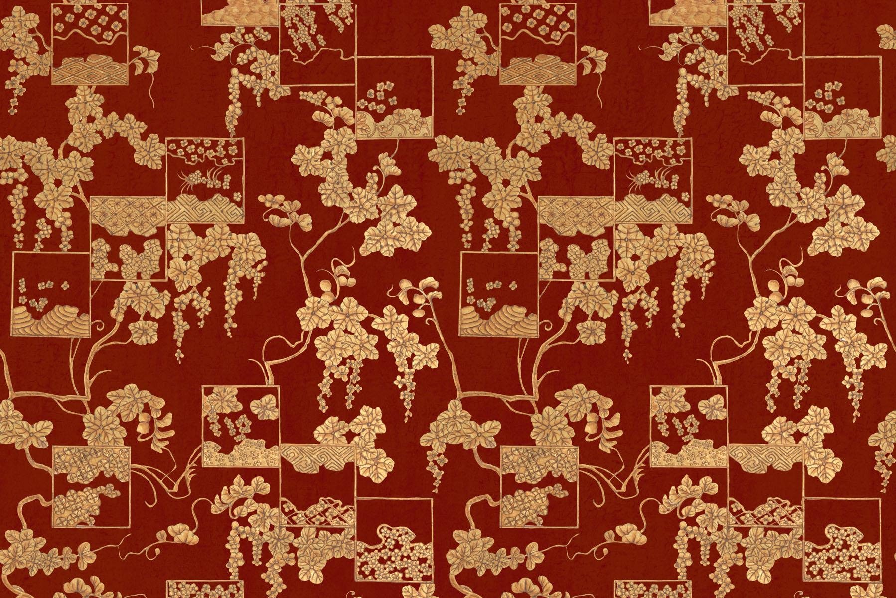 Английские обои Iksel,  коллекция Scenic & Architectural Wallpapers, артикулJapaneseCollectionJAPANESEREPEAT