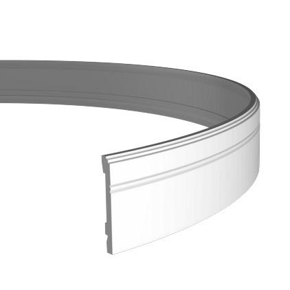 Плинтус гибкий из полиуретана 1.53.103F