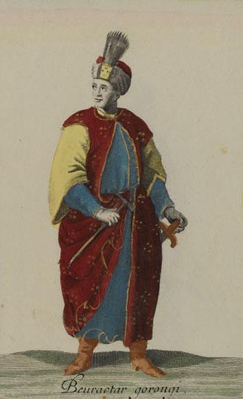 Английские обои Iksel,  коллекция Scenic & Architectural Wallpapers, артикулOttomanCostumesOP12