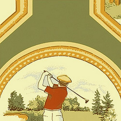 Американские обои Thibaut,  коллекция Castle Pine, артикулT6301