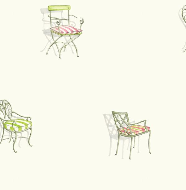 Американские обои Seabrook,  коллекция Le Jardin, артикулLJ80201