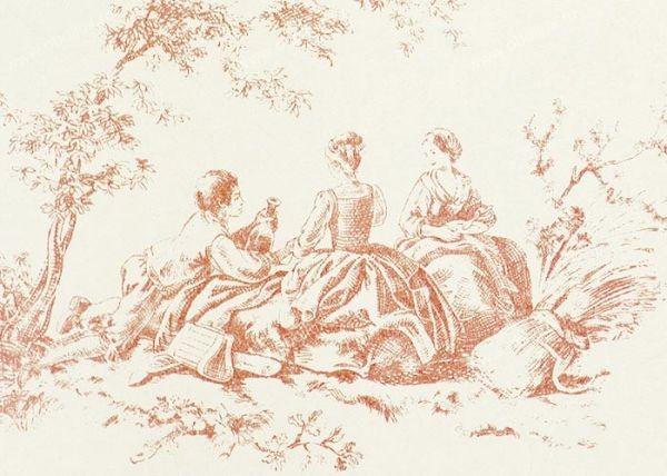 Французские обои Casadeco,  коллекция Amboise, артикулCBR15354129