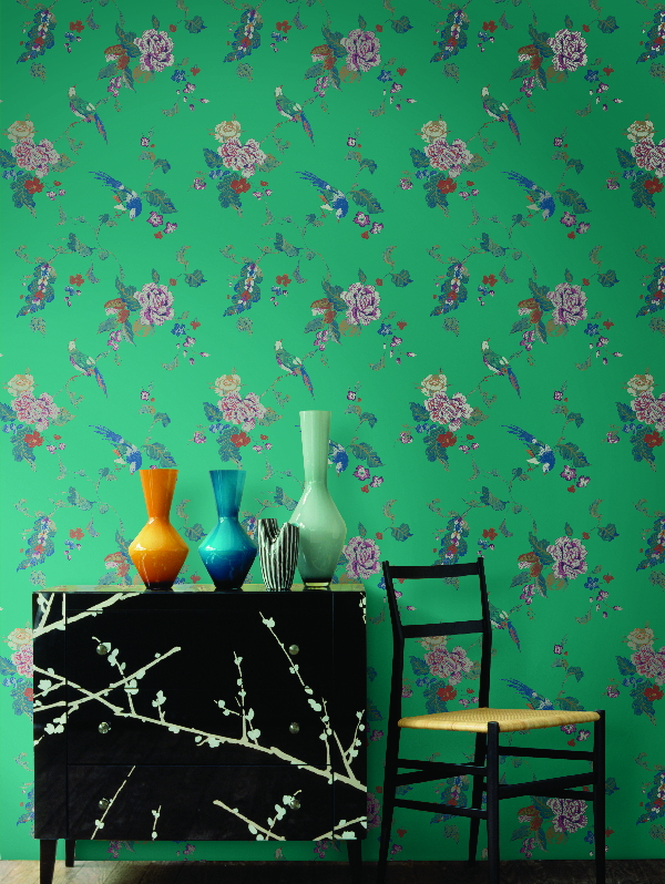 Американские обои Wallquest,  коллекция Watercolor Florals, артикулMF20004