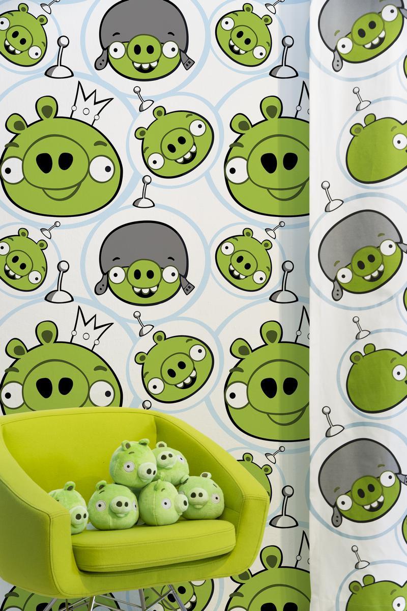 Обои  Valilla,  коллекция Angry Birds, артикул4990-1