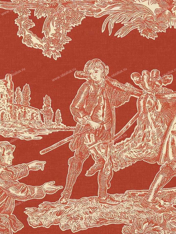 Американские обои Stroheim,  коллекция Color Gallery Crimson, артикул6671E0340