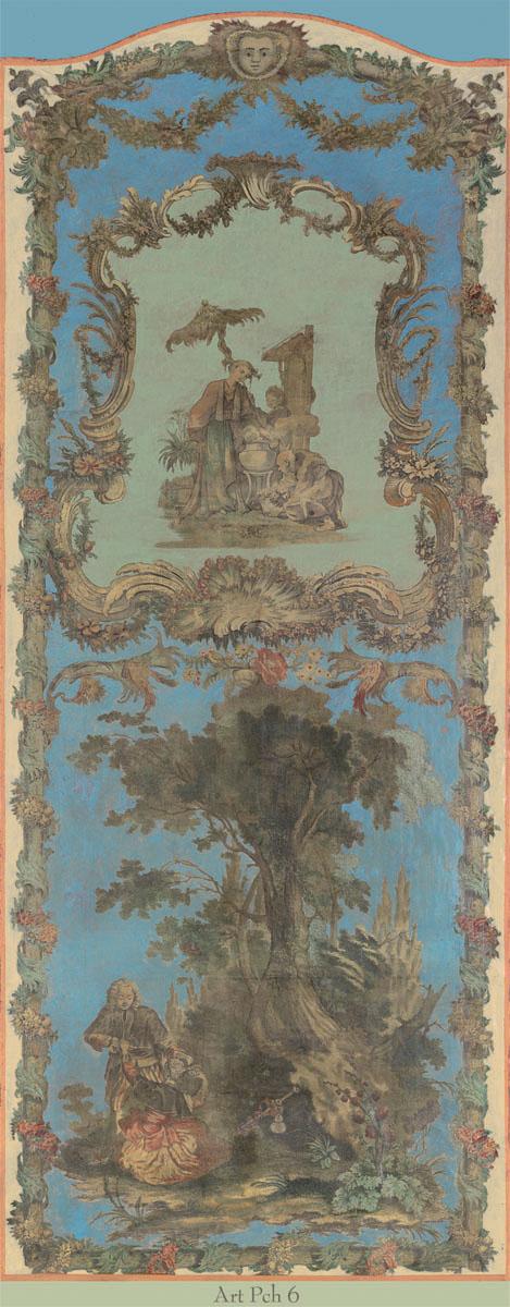Английские обои Iksel,  коллекция Scenic & Architectural Wallpapers, артикулArtePovereChinoiseresIIARTPCH6