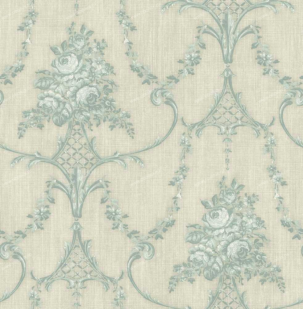 Английские обои The art of wallpaper,  коллекция Stripes Daisy Lace, артикул5970179