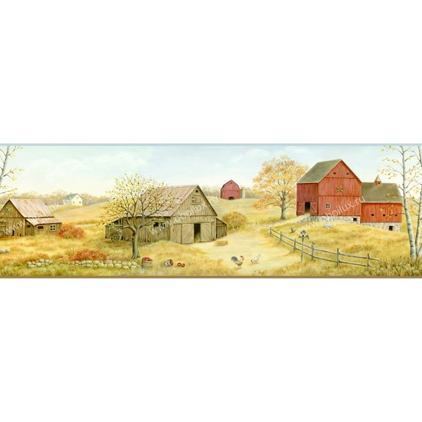 Американские обои Chesapeake,  коллекция Family & Friends III, артикулFFR65392B