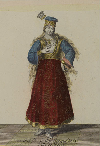 Английские обои Iksel,  коллекция Scenic & Architectural Wallpapers, артикулOttomanCostumesOP13