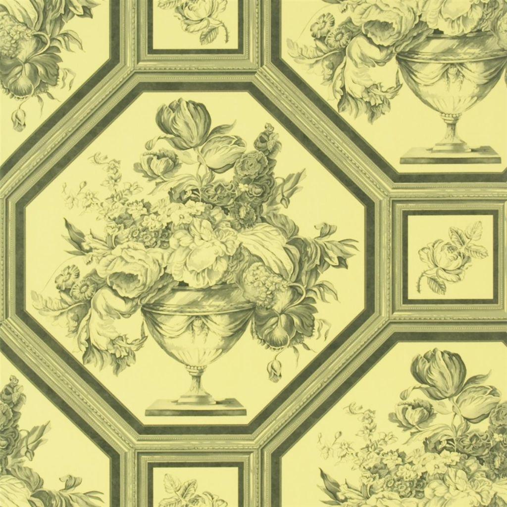Английские обои Designers guild,  коллекция The Royal Collection - Rosa Chinensis, артикулPQ010/06