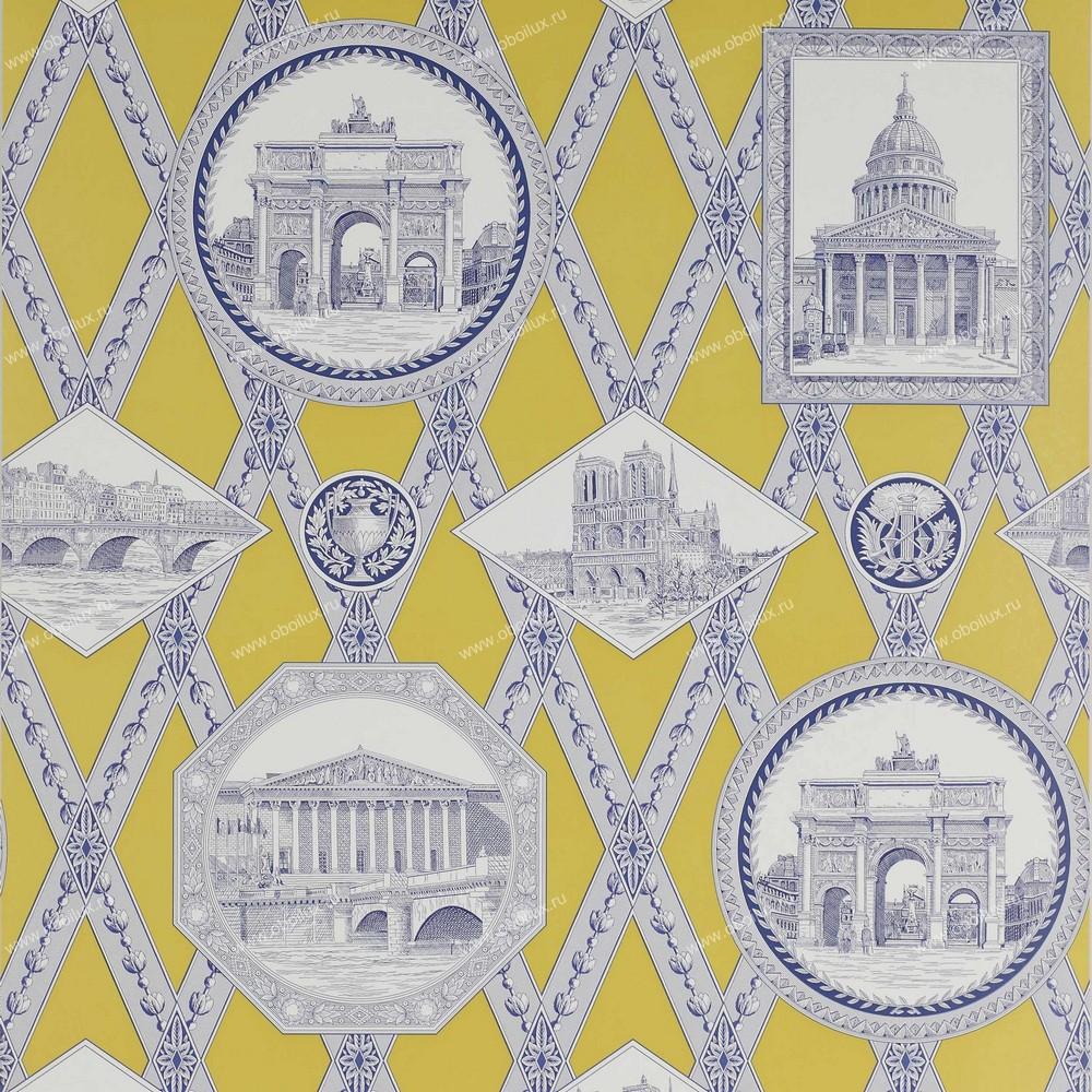 Французские обои Manuel Canovas,  коллекция Papiers Peints Trianon, артикул03068-01