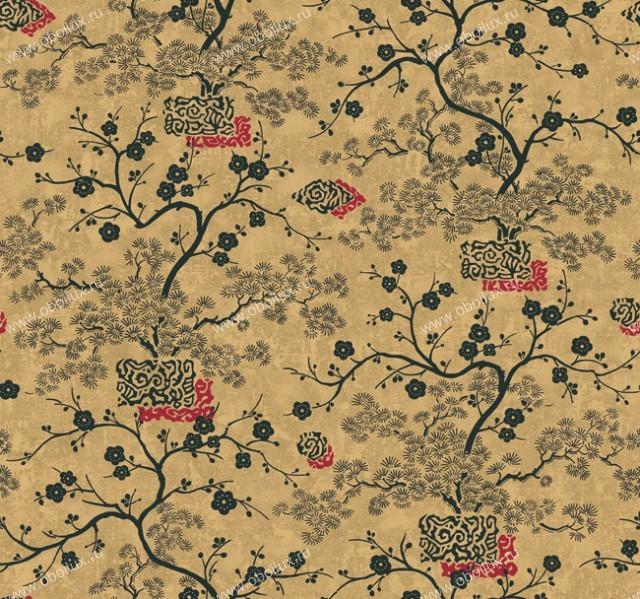 Американские обои York,  коллекция The Carlisle Company - Opposites Attract, артикулBW8049