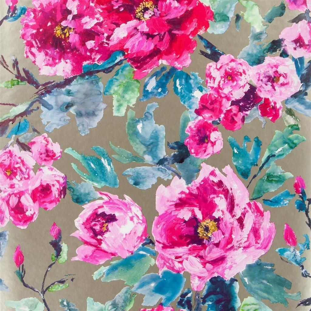 Английские обои Designers guild,  коллекция Shanghai Garden, артикулPDG649/02