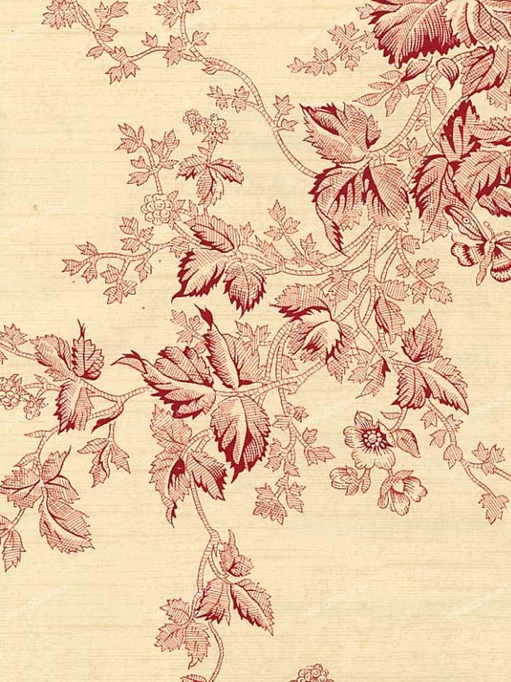 Американские обои Stroheim,  коллекция Color Gallery Crimson, артикул6652E0331