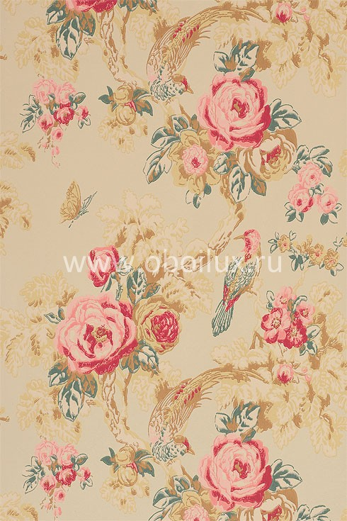 Английские обои Anna French,  коллекция Wild Flora, артикулBIRNW01