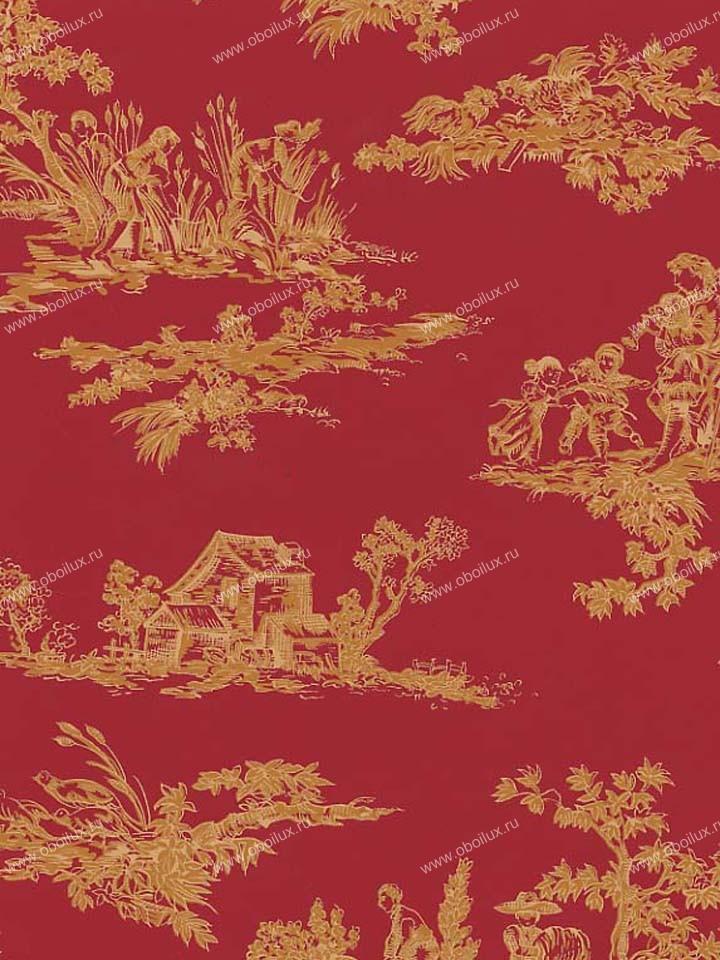 Американские обои Stroheim,  коллекция Color Gallery Crimson, артикул7991E0350