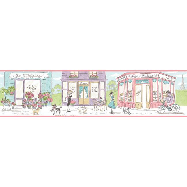 Американские обои York,  коллекция Waverly Kids, артикулWK6821BD