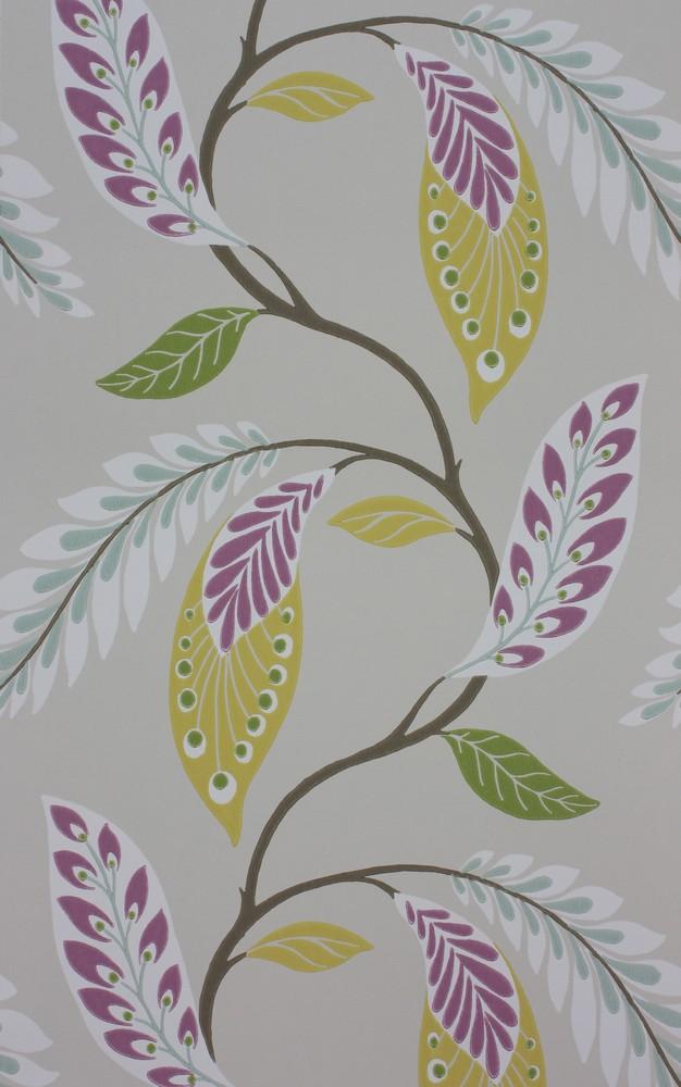 Английские обои Nina Campbell,  коллекция Fontibre Wallpaper, артикулNCW4207-05