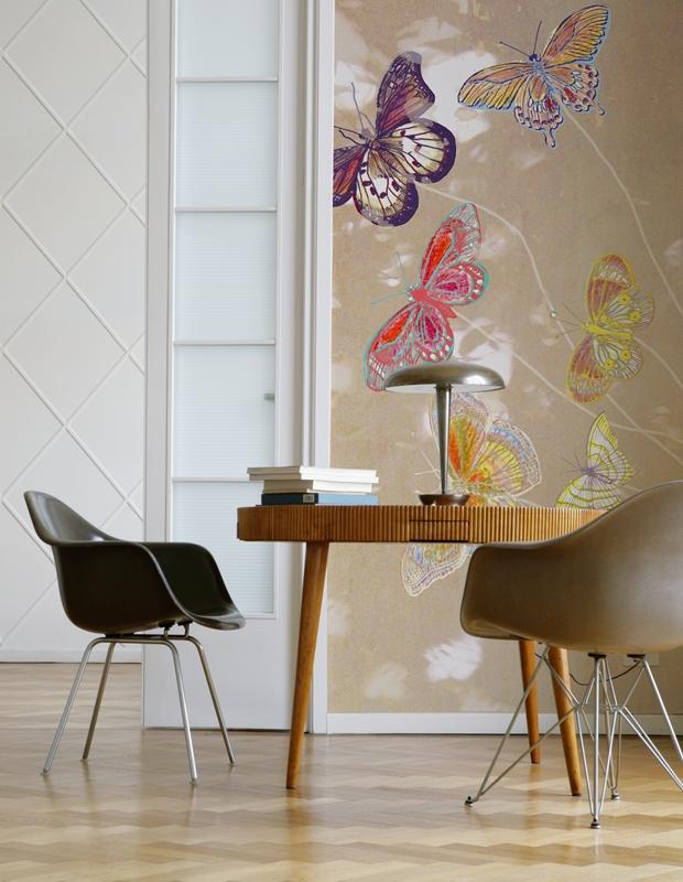Итальянские обои Wall & deco,  коллекция Big Brand 12, артикулBBEN1201
