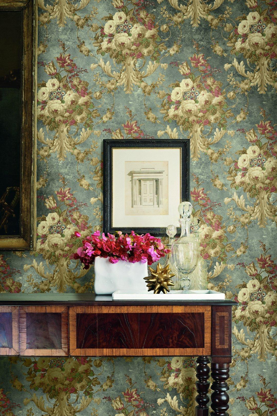 Американские обои Wallquest,  коллекция The Hampton House, артикулSM70302