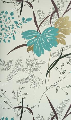 Английские обои Nina Campbell,  коллекция Sylvana, артикулNCW4022-03