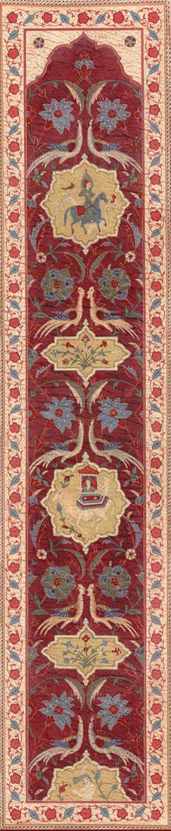 Английские обои Iksel,  коллекция Scenic & Architectural Wallpapers, артикулAleppoRedALRED08